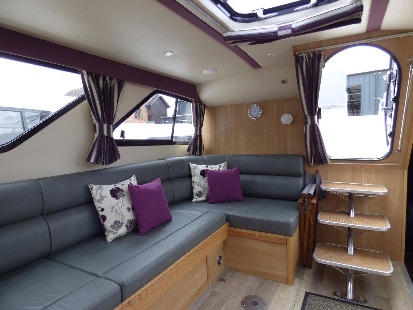 Broads Holiday Cruiser interior