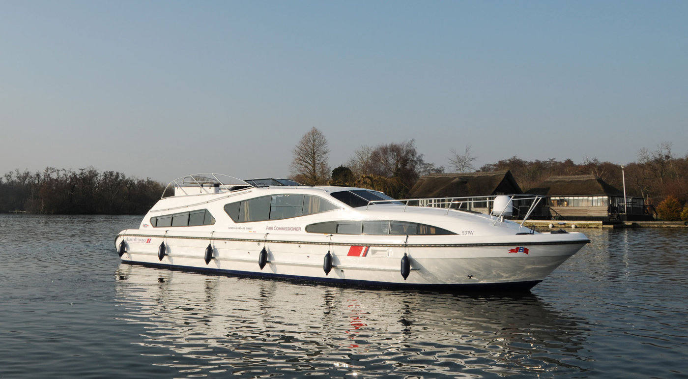 Fair Commissioner Boating Holidays Norfolk Broads Direct