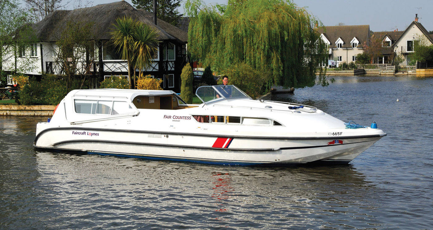 fair countess norfolk broads boating holidays