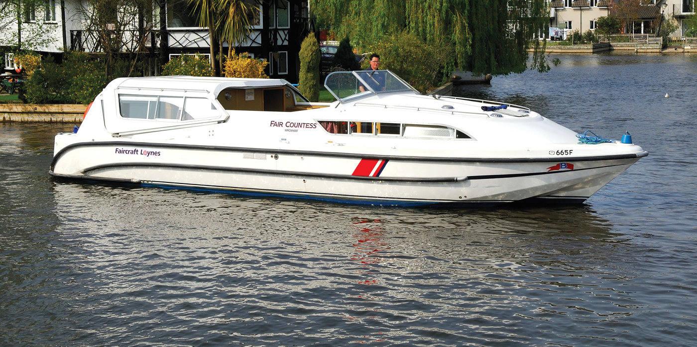 Fair Countess Boating Holidays Norfolk Broads Direct