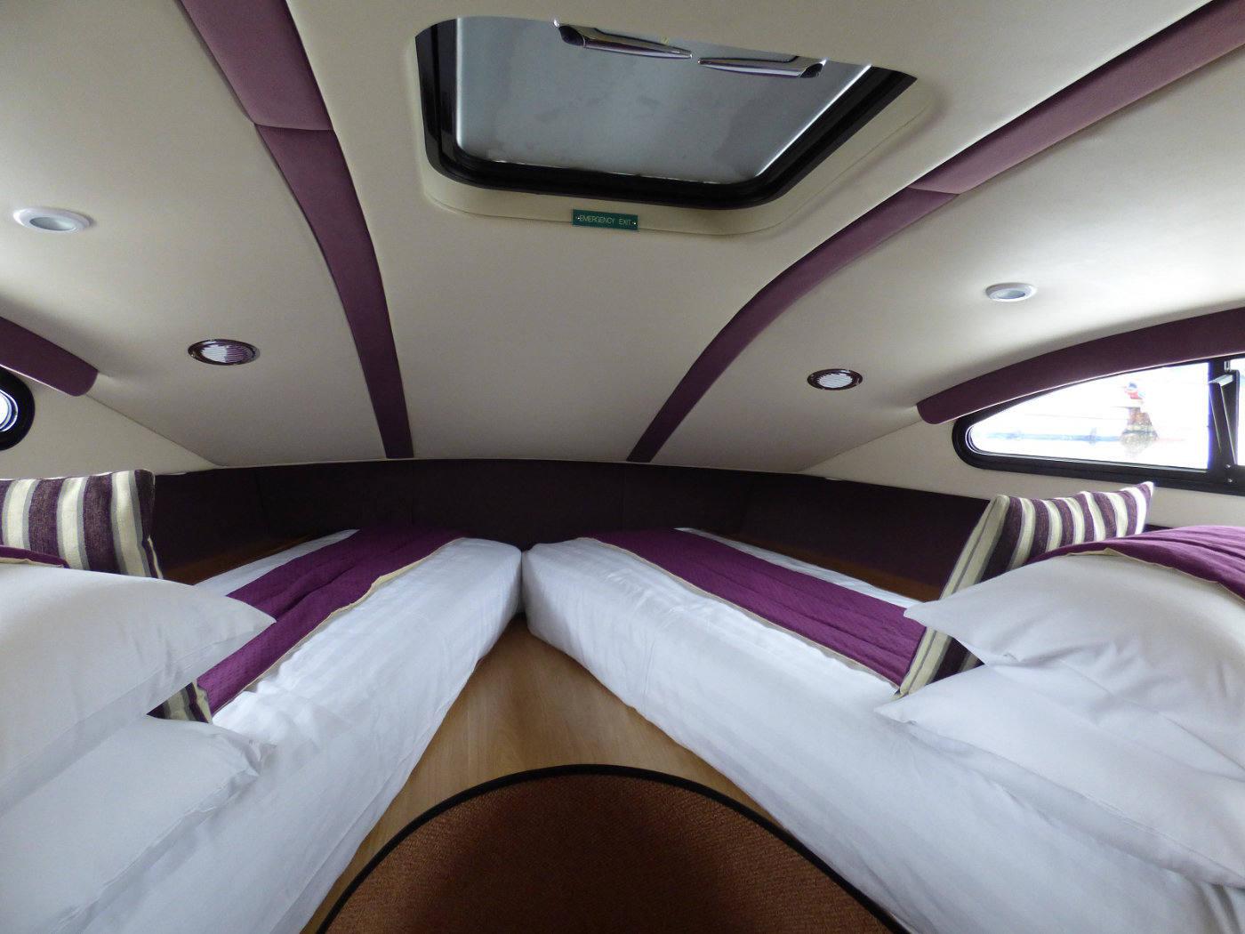 Twin bedroom on Fair Entrepreneur