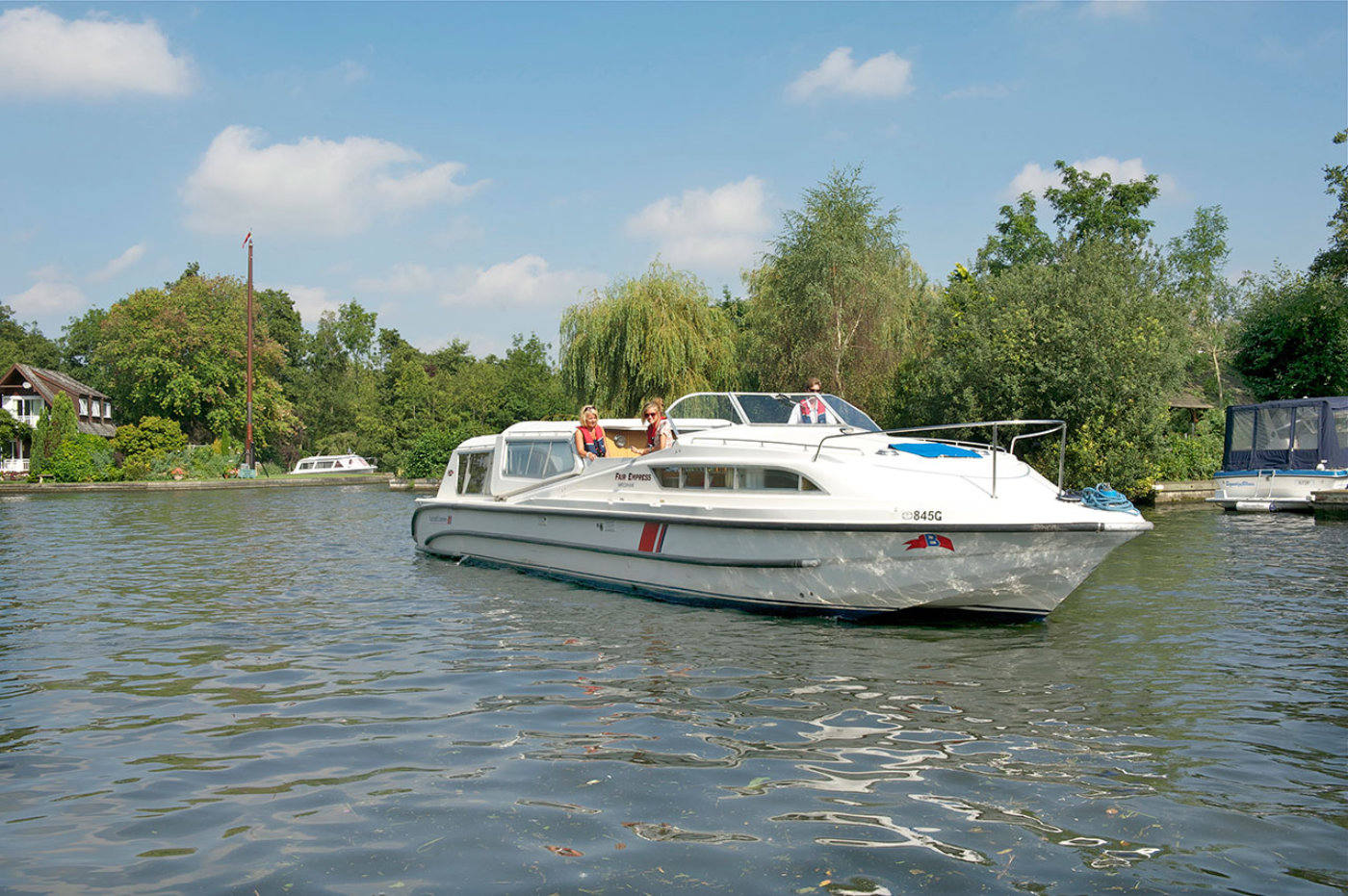 fair empress broads boating holidays