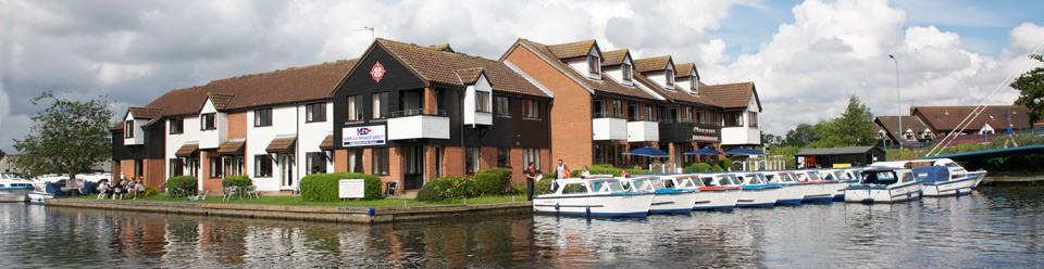 Self catering holidays homes on the Norfolk Broads