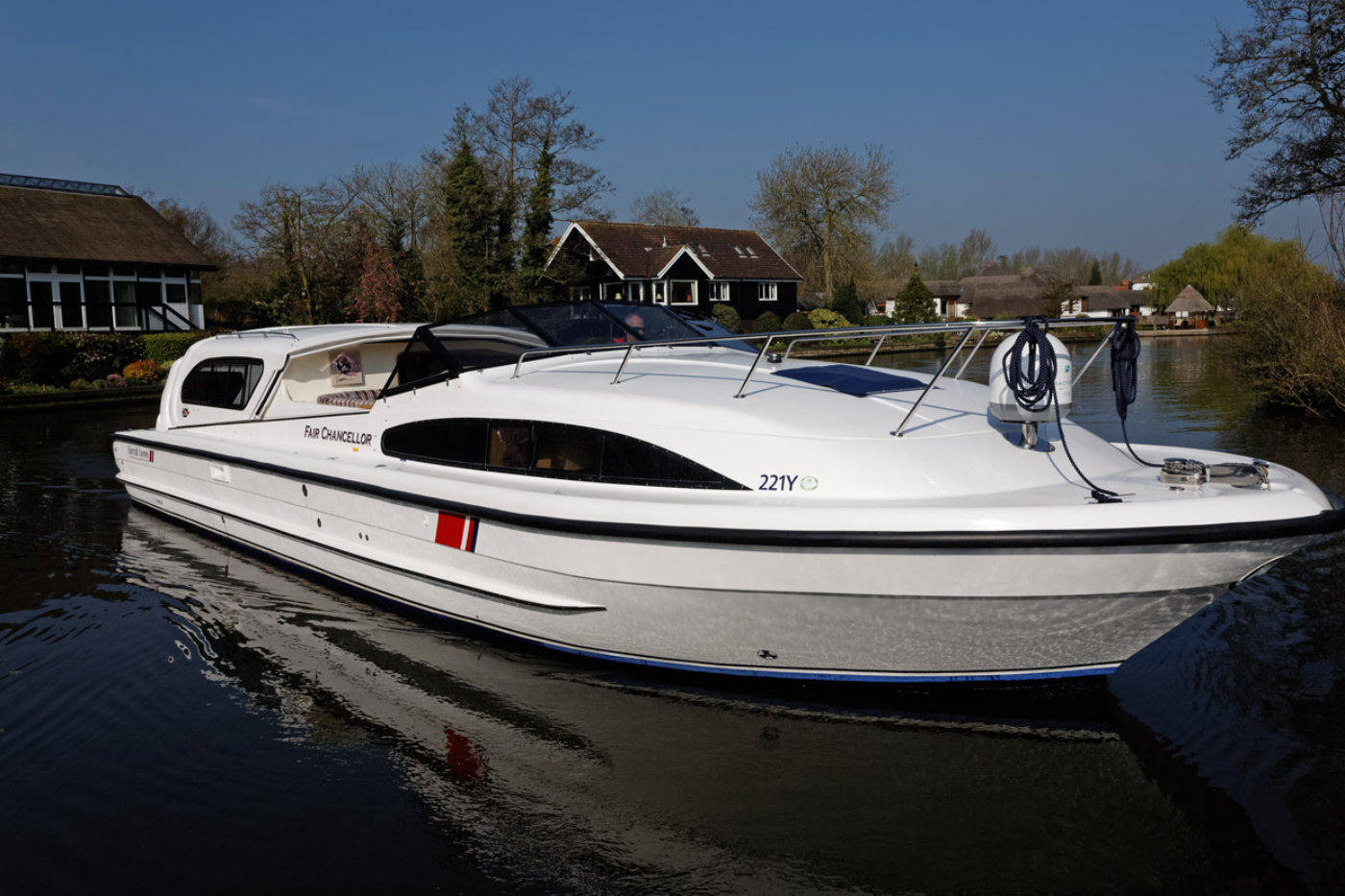 fair chancellor norfolk broads boat hire