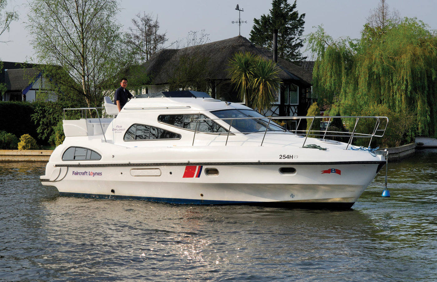 fair diplomat boat hire norfolk broads
