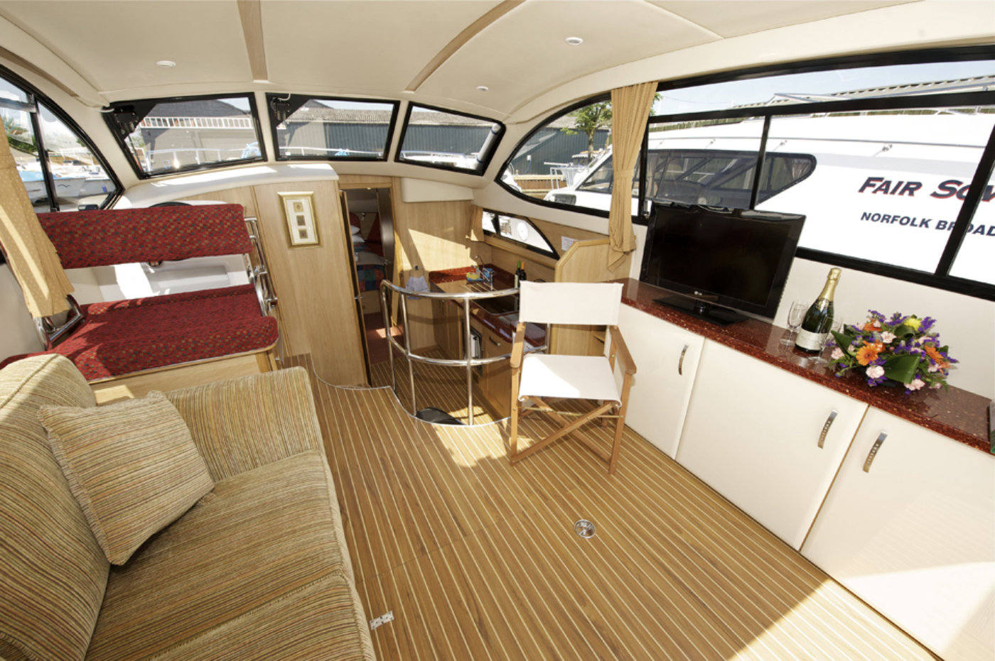 Fair Jubilee Boating Holidays Norfolk Broads Direct