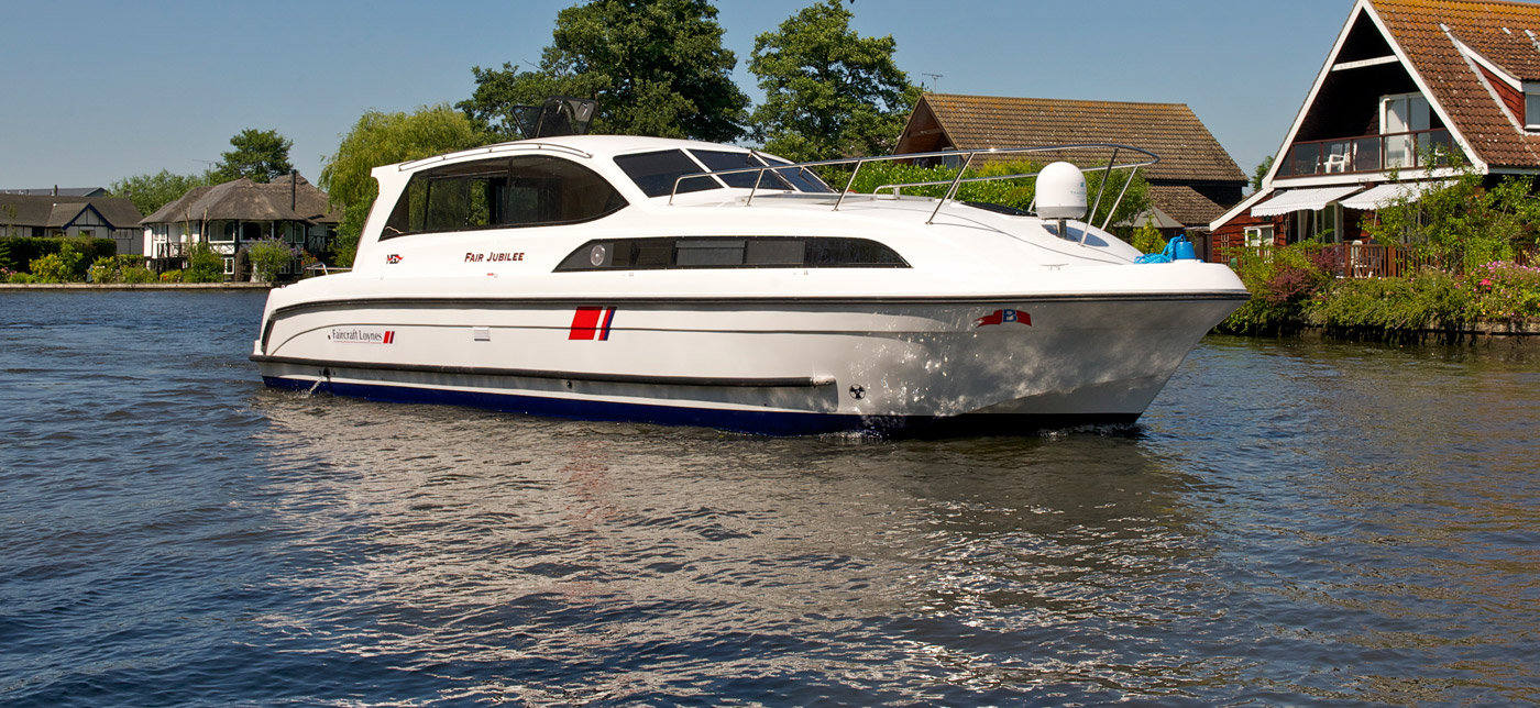 Norfolk Broads Boat Hire on Fair Jubilee