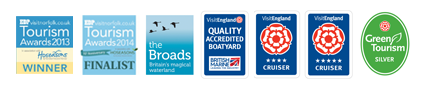 Norfolk Broads Holiday Accreditations