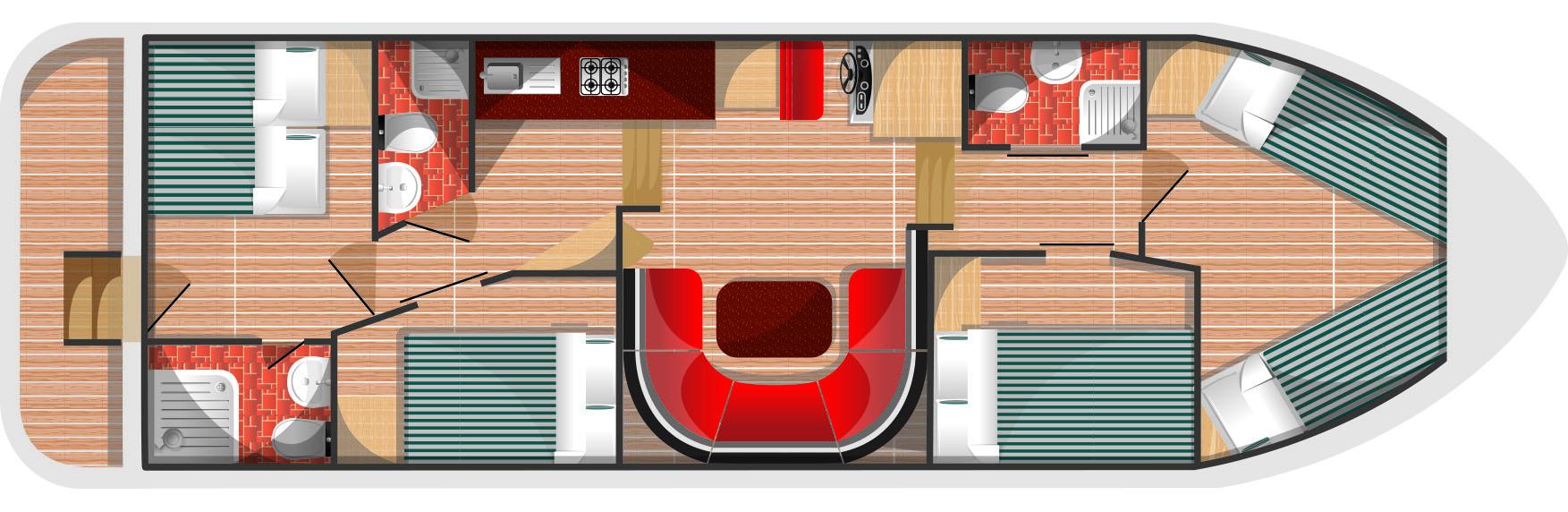 Floorplan for Fair Emperor