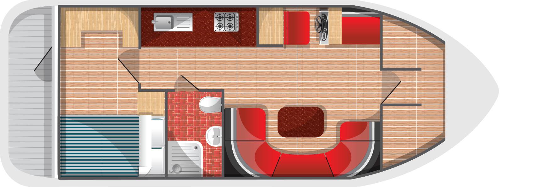 Floorplan for Fair Viscount