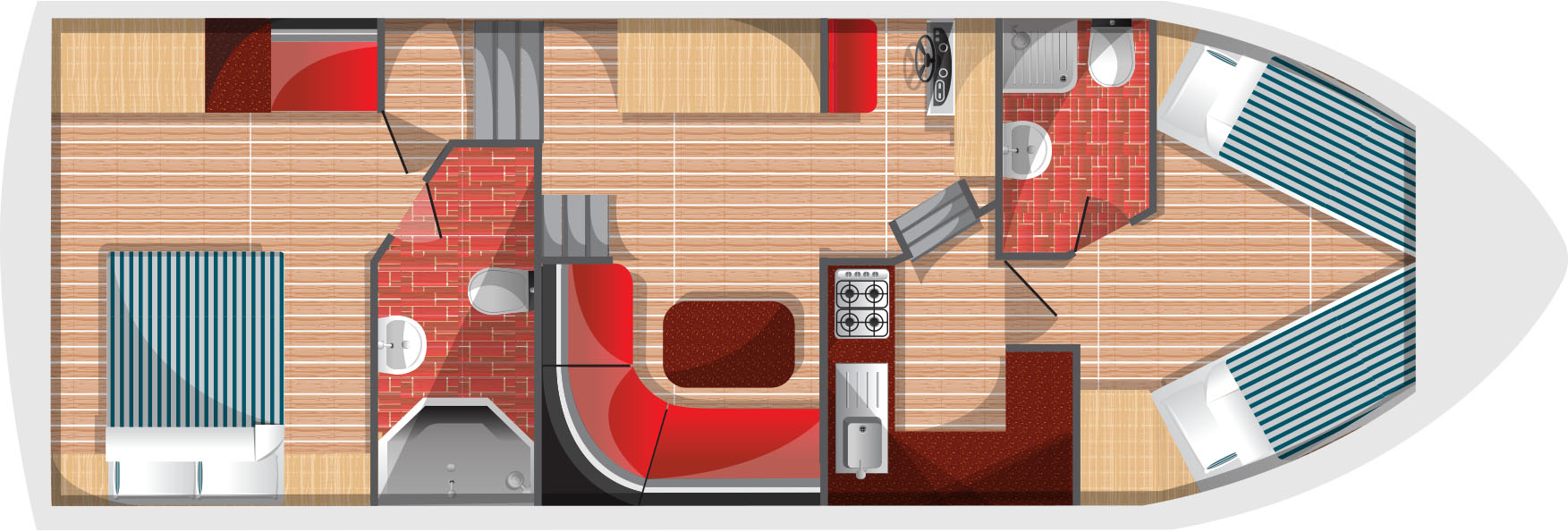 Floorplan for Fair Monarch