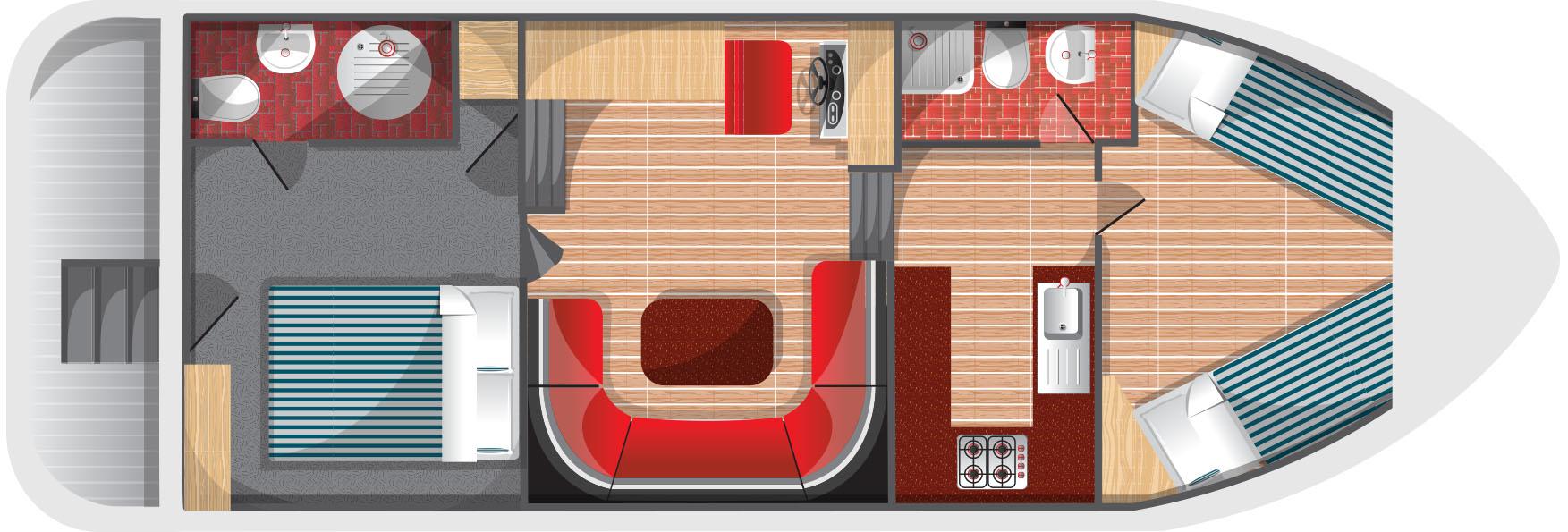 Floorplan for Fair Royale