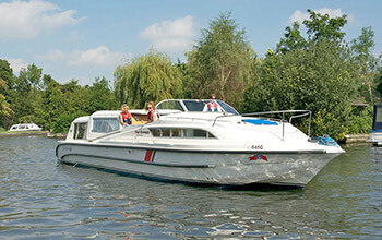 Fair Empress Norfolk Broads boat hire
