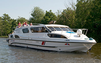 Fair President luxury boating holidays