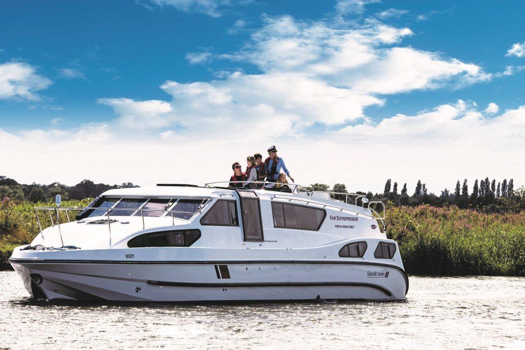 entrepreneur boating holidays