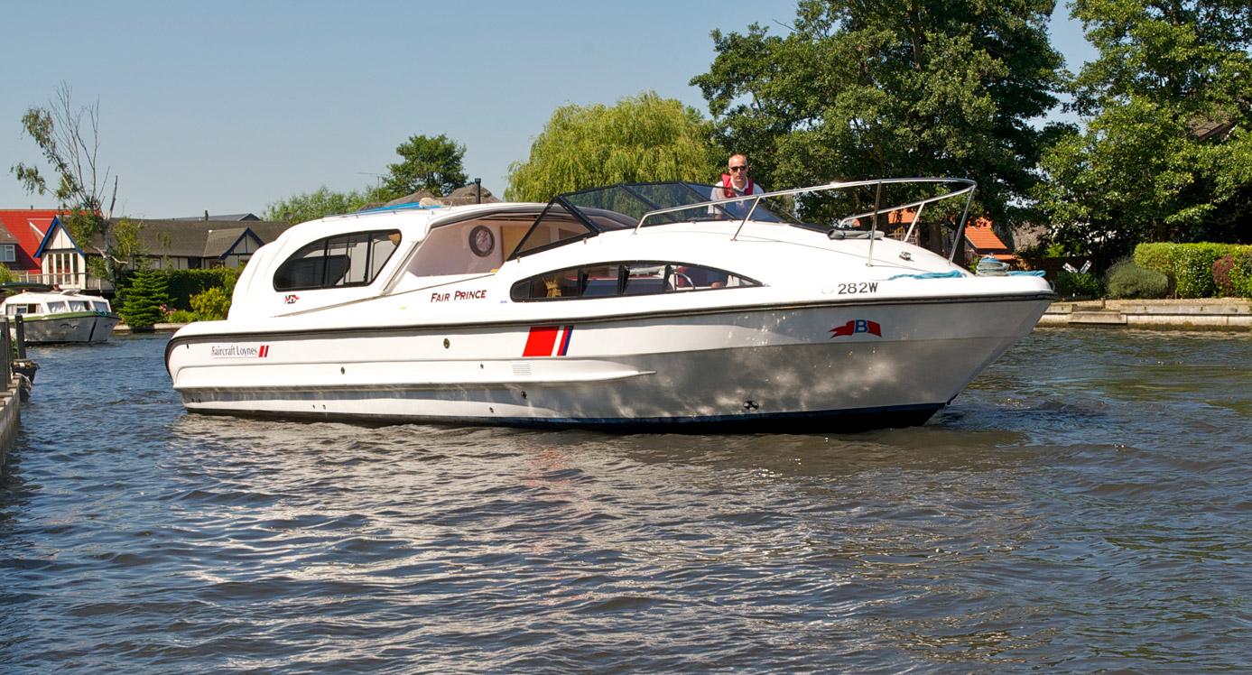 Gt Fair Prince Boating Holidays Norfolk Broads Direct