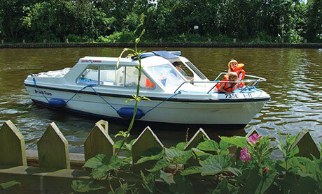 Norfolk Broads Cottages Day Boat Hire